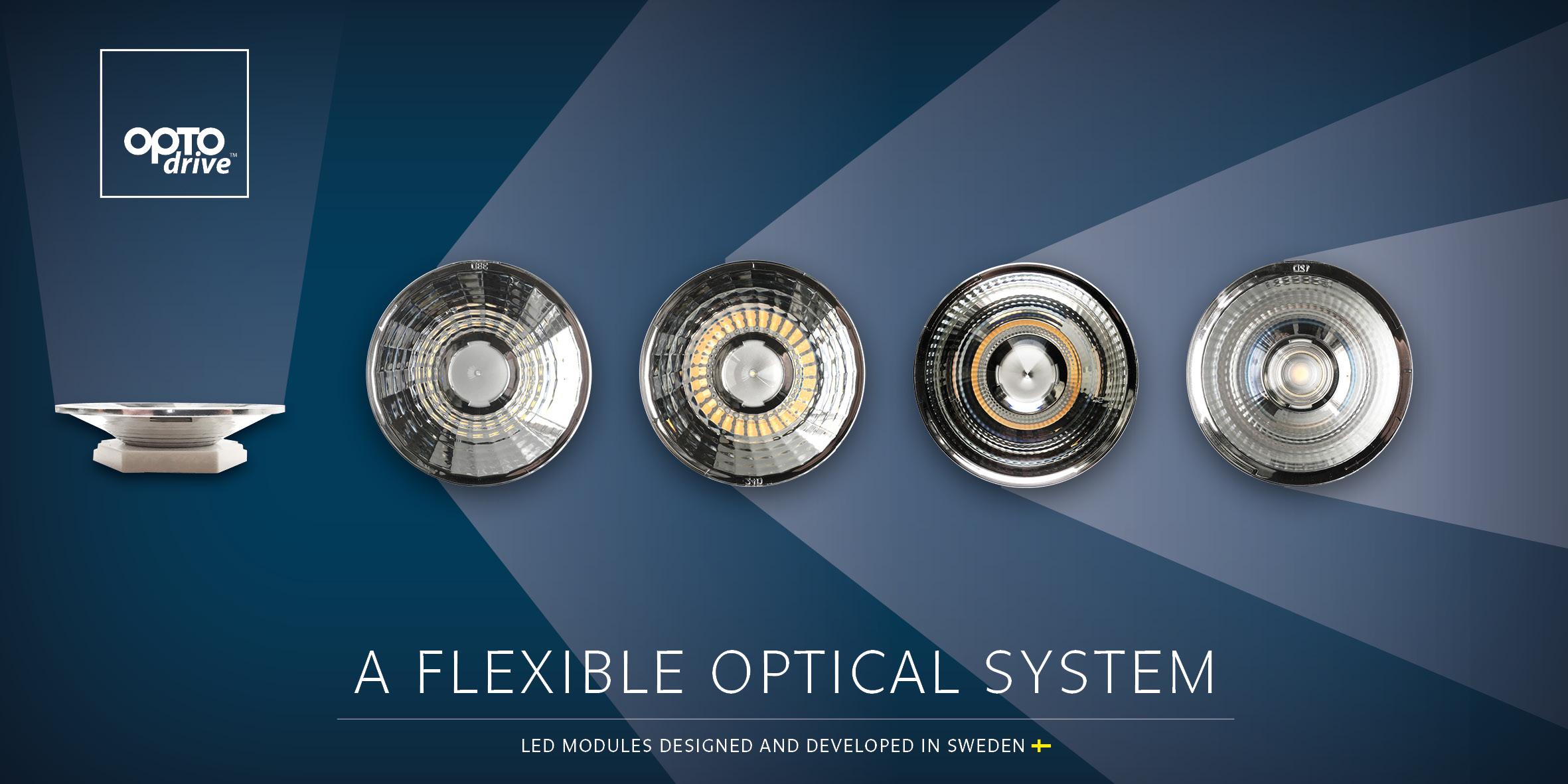 A flexible optical system
