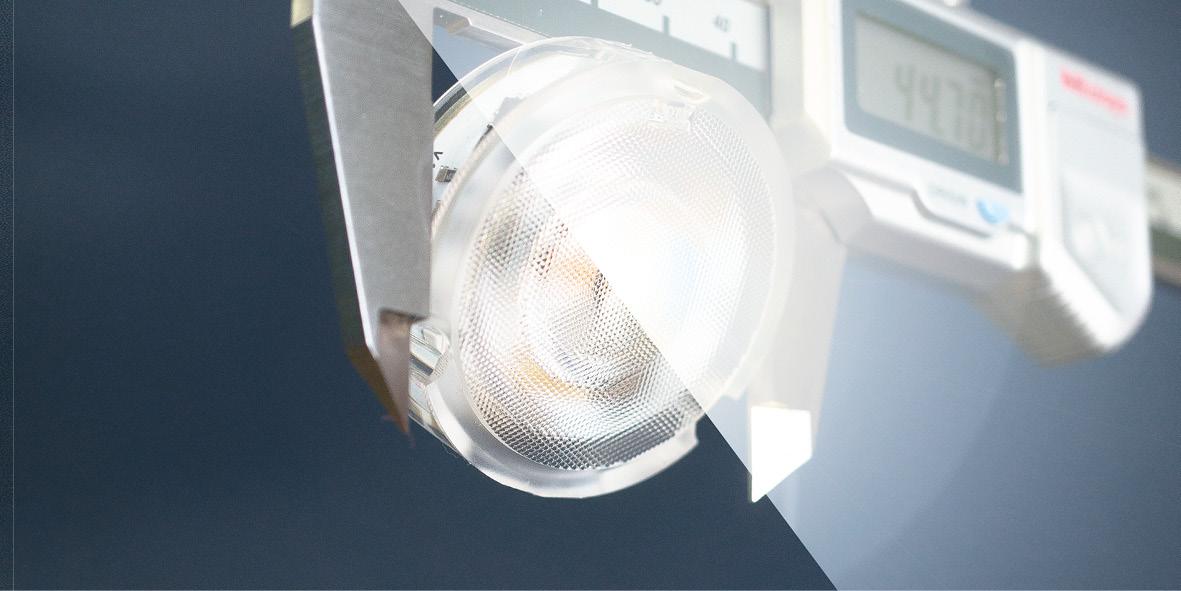 Slimmer spotlights