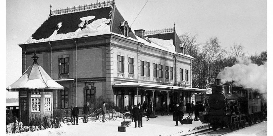 Stationshuset-gammal