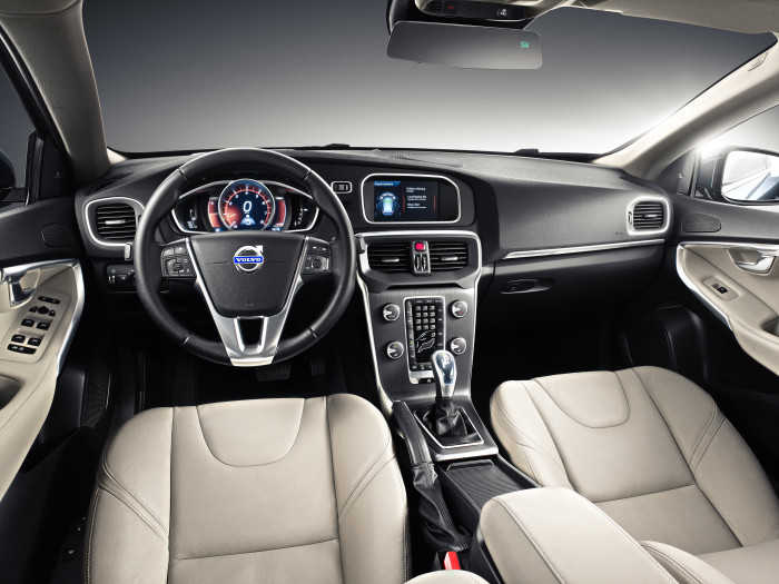LED ensures premium feel of new Volvo V40